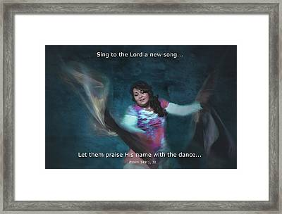 Psalm 149 Framed Print