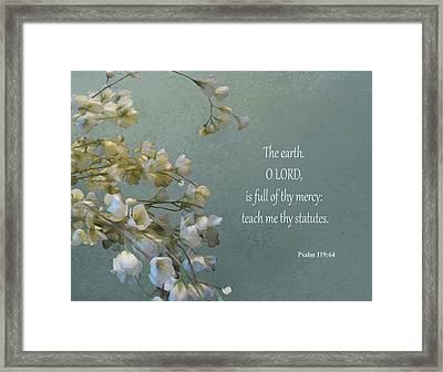 Psalms 03 Framed Print