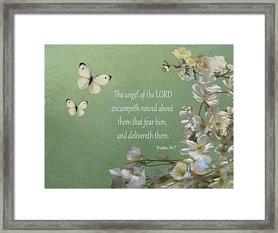 Psalms 04 Framed Print