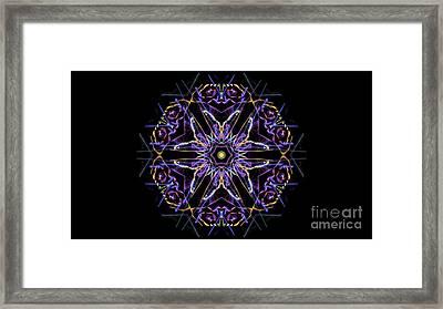 Psych5 Framed Print
