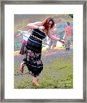 Framed Print featuring the photograph Psychecirque by Jesse Ciazza
