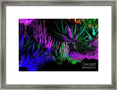 Psychedelia Framed Print by Kathy McClure