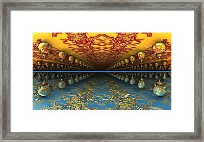 Psychedelic Avenue Framed Print