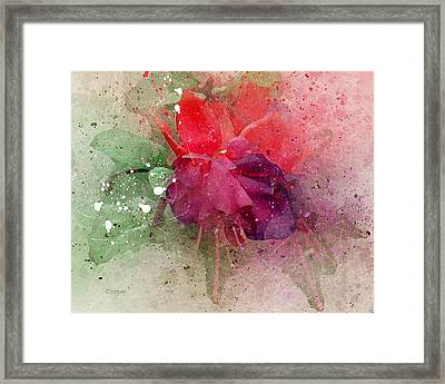 Psychedelic Beauty Framed Print