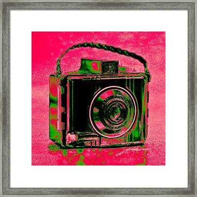 Psychedelic Brownie Framed Print