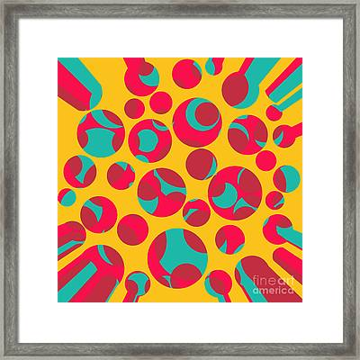 Psychedelic Cheese Framed Print by Gaspar Avila