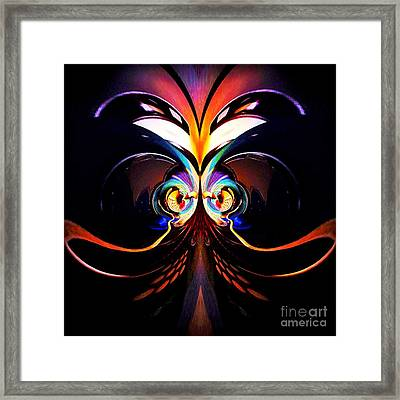 Psychedelic Dreams Framed Print by Blair Stuart