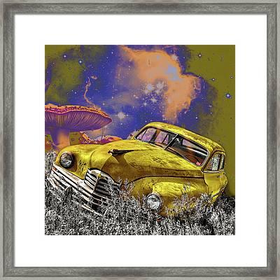 Psychedelic Dreams Framed Print