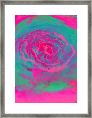 Psychedelic Series 2 Framed Print