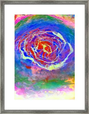 Psychedelic Series 3 Framed Print