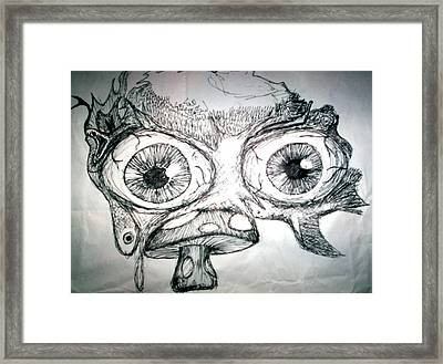 Psychedelic Zoo 2 Framed Print by Paul Telling