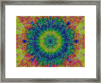 Psychedelicize Framed Print by Bill Cannon