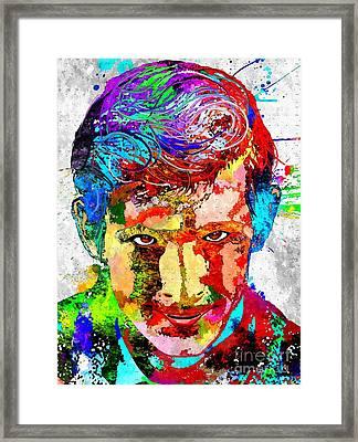 Psycho Grunge Framed Print