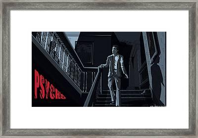 Psycho Framed Print by Jason Diesbourg