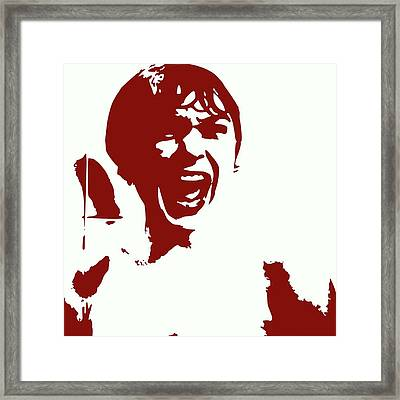 Psycho Framed Print by Matthew Lacey