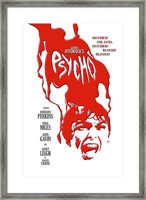Psycho Framed Print by Ron Regalado