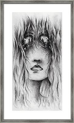 Psychotic Framed Print