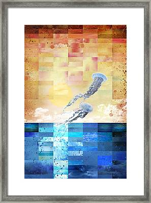 Psychotropic Rhythms Framed Print