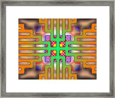 Psytechno Framed Print