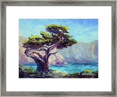 Pt. Lobos Beauty Framed Print