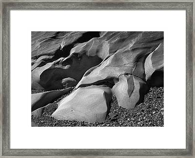 Pt. Lobos Rocks Framed Print