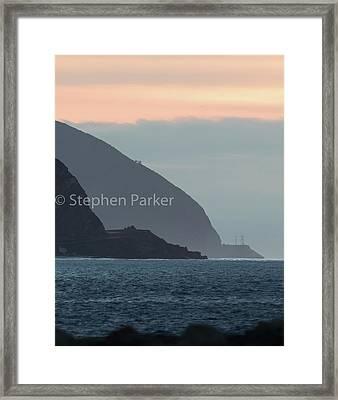 Pt. Mugu 7a9413 Framed Print