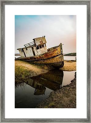 Pt. Reyes Shipwreck 1 Framed Print