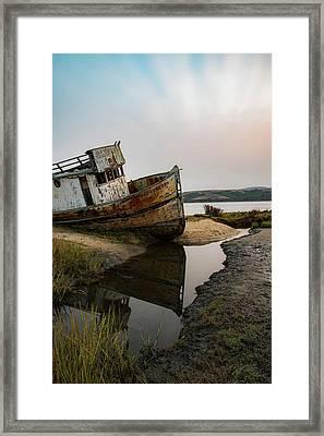 Pt. Reyes Shipwreck 4 Framed Print