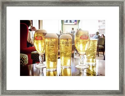 Pub Framed Print by Michael Weber