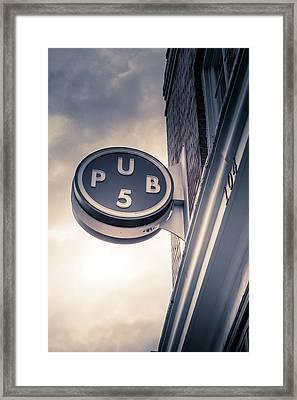 Pub5 Framed Print by Art Spectrum