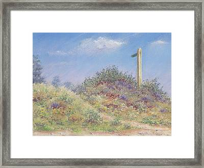 Public Footpath Framed Print by Anthony Rule