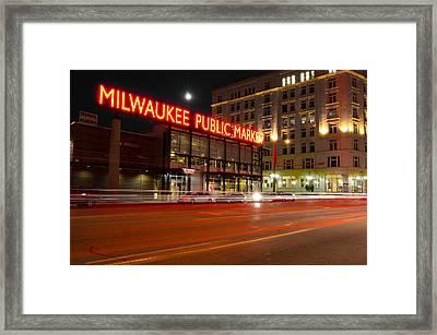 Public Market Framed Print by Jonah  Anderson