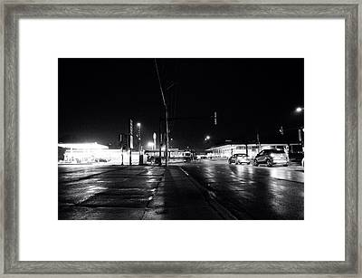 Public Transportation Framed Print
