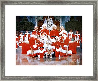 Publicity Photo From The Movie White Christmas Framed Print