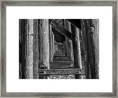 Pudding Creek Bridge  Framed Print
