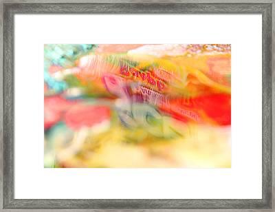 Puddle Reflection Framed Print