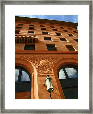 Pueblo Downtown Thatcher Building 2 Framed Print