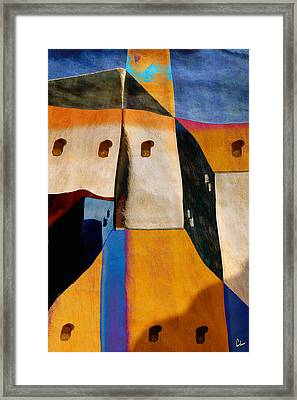 Pueblo Number 1 Framed Print by Carol Leigh