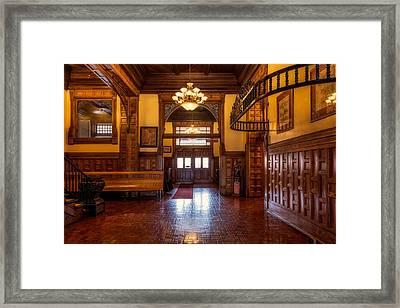 Pueblo Union Depot Framed Print