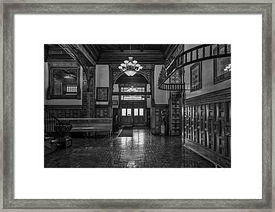 Pueblo Union Dept Framed Print