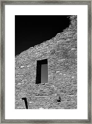 Pueblo Wall Framed Print
