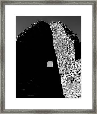 Pueblo Window Framed Print