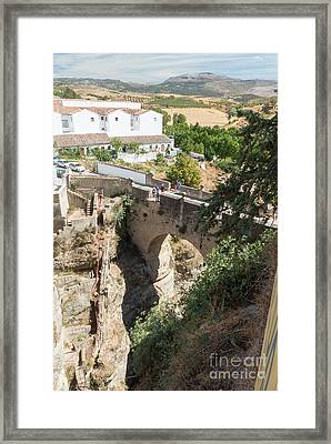 Puente Viejo Framed Print by Rod Jones