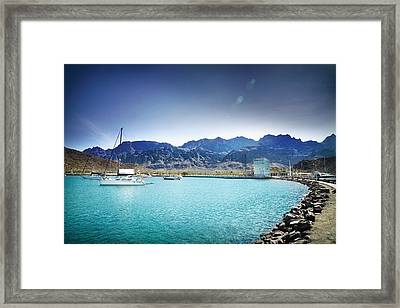 Puerto Escondido Framed Print