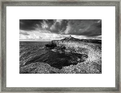 Framed Print featuring the photograph Puerto Ferro Light by Patrick Downey