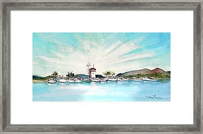 Puerto Portals 01 Framed Print by Miki De Goodaboom