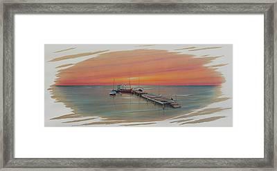Puerto Progreso Vl  Framed Print