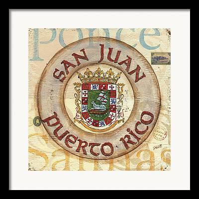 City Of San Juan Framed Prints