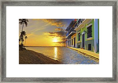 Puerto Rico Montage 1 Framed Print