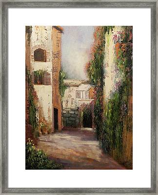 Puerto Vallarta Framed Print by Sally Seago